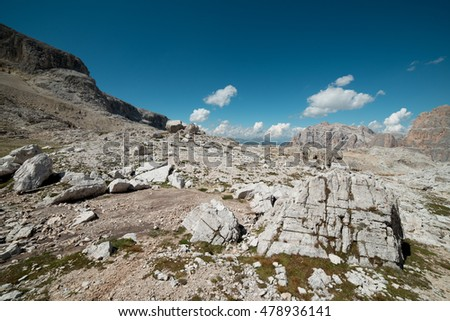 Dolomiti Unesco, wonder of nature - views from Lagazuoi, Fanis group