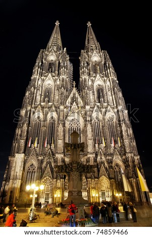 Dom of Cologne, Germany - stock photo