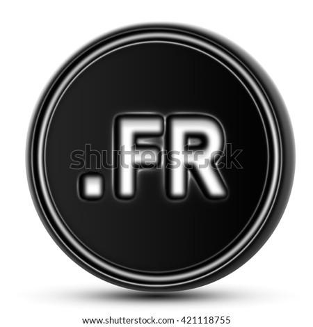 Domain of France - stock photo