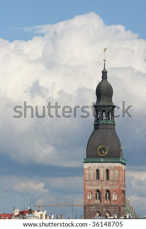 Dome Cathedral Tower (Riga, Latvia)