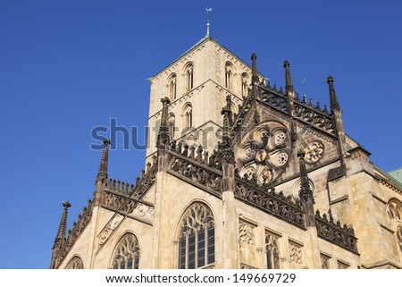dome of Muenster, Germany - stock photo