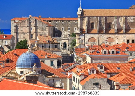 From Dubrovnik Old Town