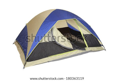 Dome tent - stock photo