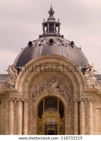 Domed building in Paris France