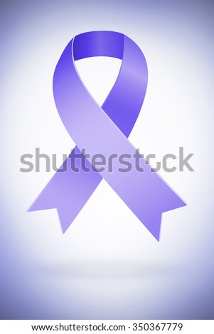 Domestic violence awareness graphic against purple vignette