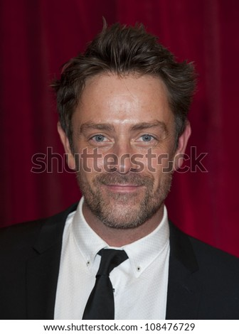 Dominic Power arriving for the 2012 British Soap Awards , LWT Southbank, London. 28/04/2012 Picture by: Simon Burchell / Featureflash