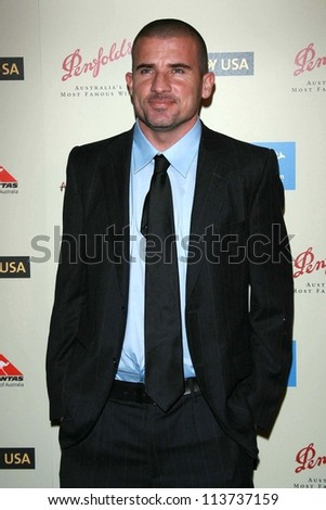 Dominic Purcell at the G'Day USA Penfolds Black Tie Icon Gala. Hyatt Regency Century Plaza, Los Angeles, CA. 01-13-07 - stock photo