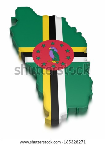 Dominica (clipping path included)