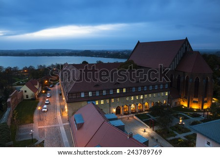 Dominican abbey of Prenzlau - stock photo