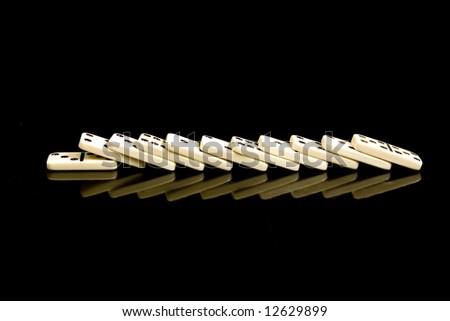 domino stones - stock photo