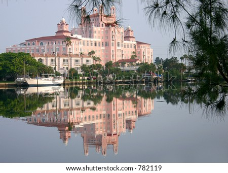 Don Cesar in Saint Petersburg Florida - stock photo