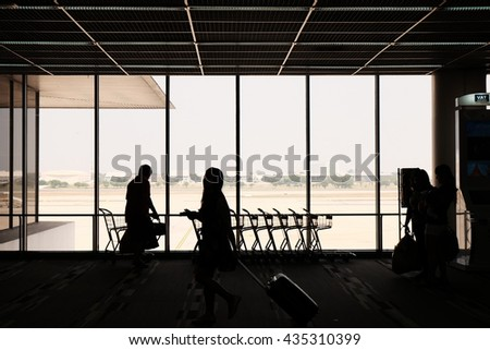 Don Mueng Airport - stock photo