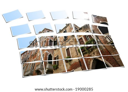 Don't overreach yourself, plan from grounds, see a bigger picture. - stock photo