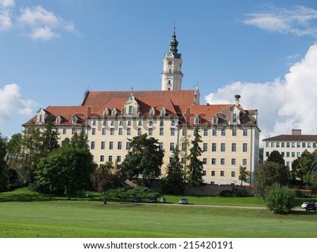 Donauworth, a typical Bavarian city, Germany - stock photo
