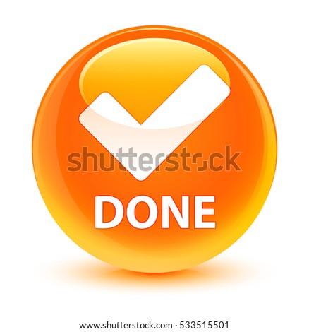 Done Button Icon