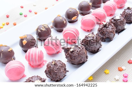 Donut Ball - stock photo