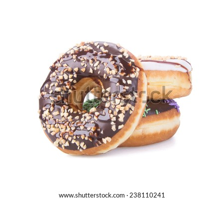 donut. donut on a background - stock photo