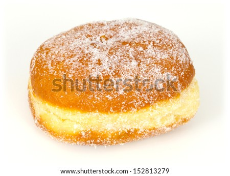 Donut, isolated on white