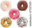 Donut variation - stock photo