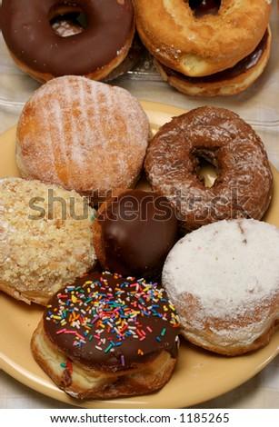 Donuts - stock photo