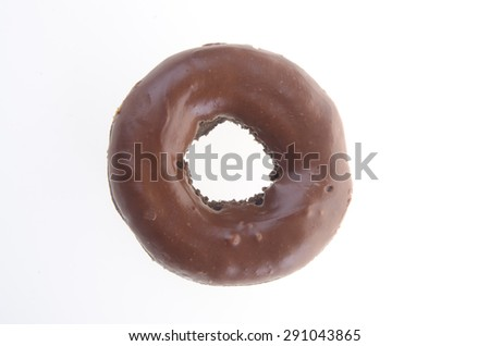 donuts, chocolate donuts on background