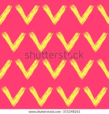 Doodle check seamless pattern background. Hand drawn check. Hand made check. Doodle check. Simple graphic geometric check elements. Isolated check on bright background. check for design. Raster copy - stock photo