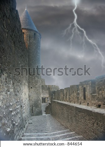 Dooms alley - stock photo