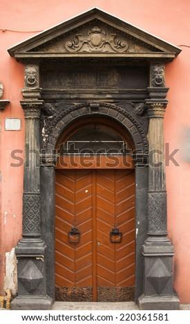 door1 - stock photo