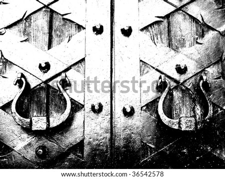 door - stock photo