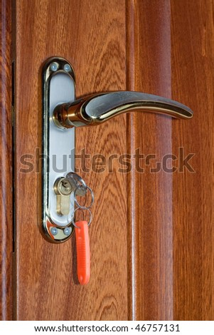 Door and keys to your new home