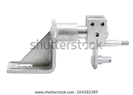 Door bearing bus - stock photo