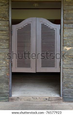 Door close - stock photo