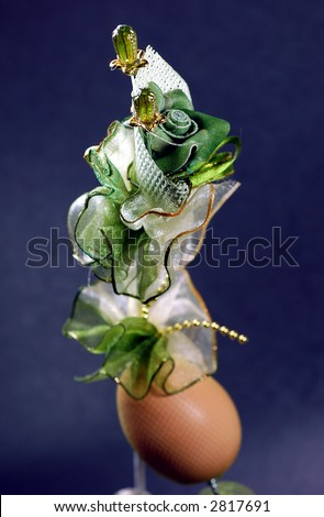 door gift for Malay wedding ,artificial plastic rose and egg