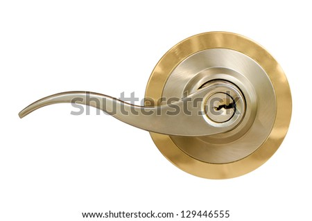 Door handle - stock photo