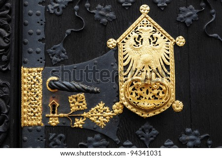 German eagle stock images royalty free images vectors for Door handle in german