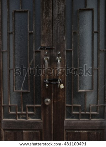 Door interior / Filmed at qingdao,china
