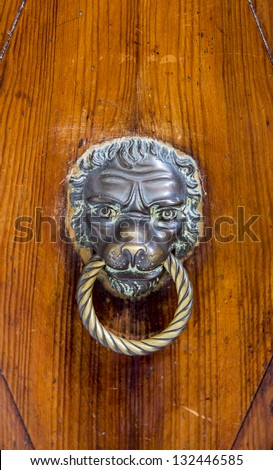 Door knob - stock photo