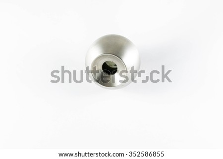 Door knob isolated