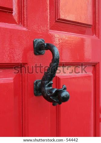 Door Knocker, Georgian - stock photo