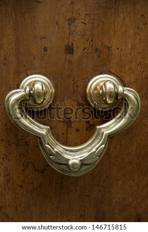 Door knocker. Italy.