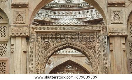 Door of Jami Masjid Gujarat State India & Door Of Masjid Stock Images Royalty-Free Images u0026 Vectors ... pezcame.com