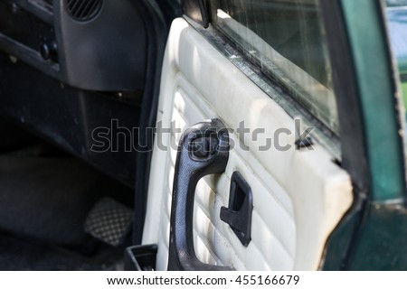 Door open in Car