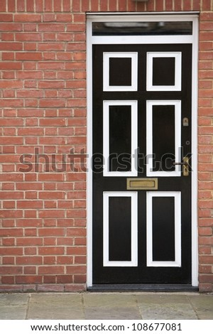 Door, part of a home - stock photo