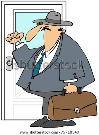 Door to Door Salesman