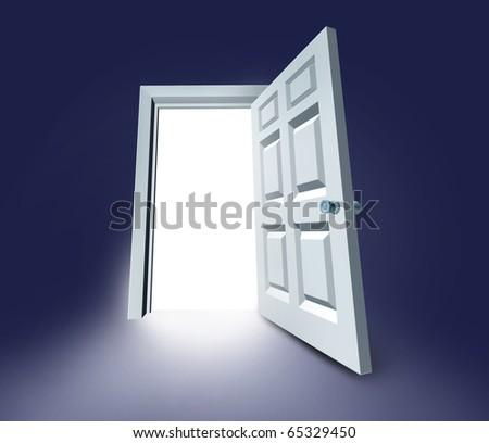 Choosing stock vector 306789239 shutterstock for Door of destinies