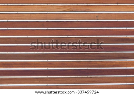 Door Wood Slats Metal Door wood slats metal strips combination decor detail background & Door Wood Slats Metal Door Wood Stock Photo (Royalty Free) 337459724 ...