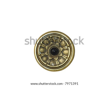 doorbell - stock photo