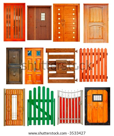 doors and gates selection