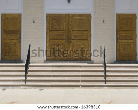 doors and steps