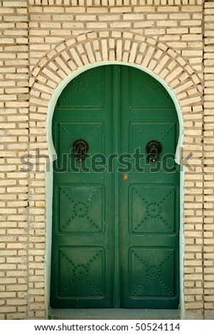 doors in the Tunisian city